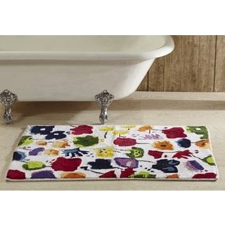 Picasso Floral Bath Rug
