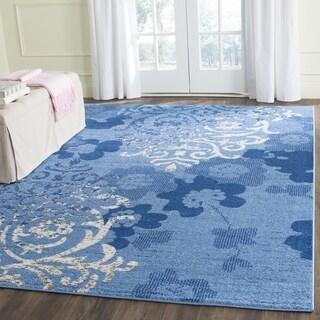 Safavieh Adirondack Light Blue/ Dark Blue Rug (8' x 10')