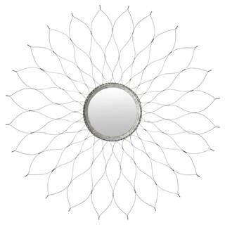Safavieh Silver Flower Mirror