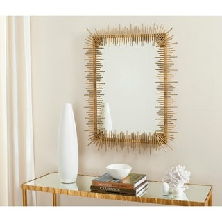 Sunray Antique Gold Mirror