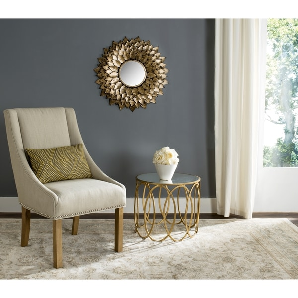 Provence Sunburst Gold Mirror