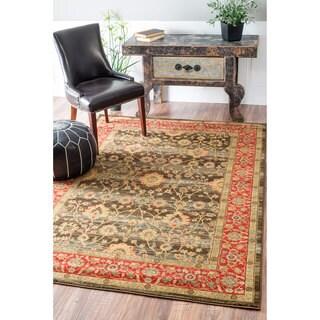 nuLOOM Traditional Persian Modern Vintage Multi Rug (5'3 x 7'7)