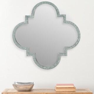 Josette Quatrefoil Antique Zinc Mirror
