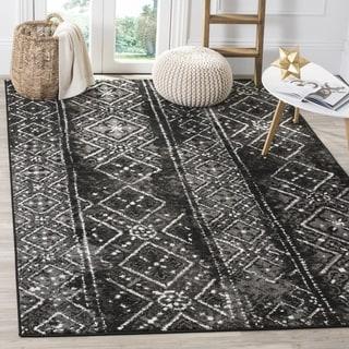 Safavieh Adirondack Black/ Silver Rug (8' x 10')
