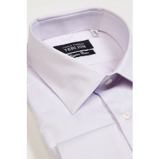 Teri Jon Pour Monsieur Men's Lavender Dress Shirt