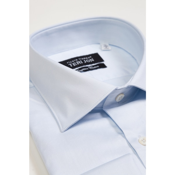 Teri Jon Pour Monsieur Men's Light Blue Dress Shirt