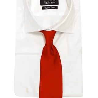 Teri Jon Pour Monsieur Men's 'Lusso' Red Tie