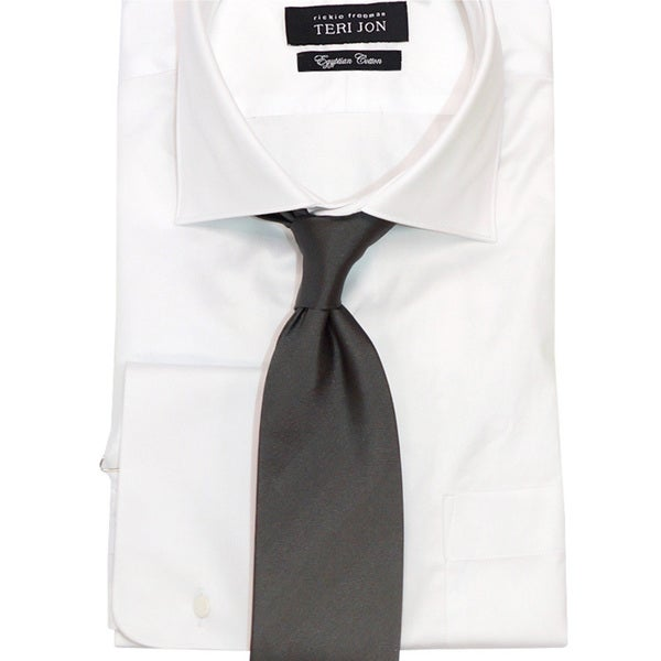 Teri Jon Pour Monsieur Men's 'Roadster' Slate Grey Tie