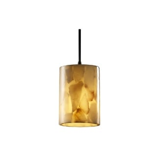 Justice Design Group Alabaster Rocks Mini Bronze Pendant