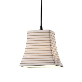 Justice Design Group Limoges Mini Square Flared Pendant