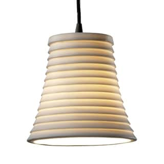 Justice Design Group Limoges Mini Round Flared Pendant
