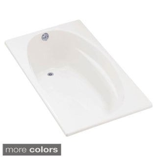 Kohler Proflex 5 Foot Left-hand Drain with Flange Bathtub