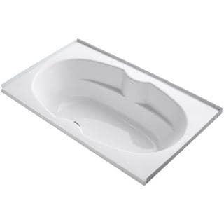 Kohler Proflex 6 Foot Center Drain Alcove with Tile Flange Bathtub