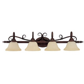 Capital Lighting Hammond Collection 4-light Mediterranean Bronze Bath/Vanity Light
