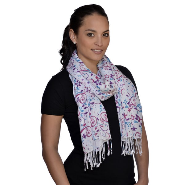 Amtal Blue/ Purple Star Scarf