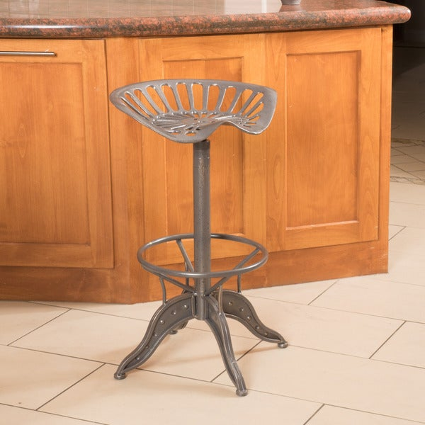 Christopher Knight Home Everly Grey Iron Barstool