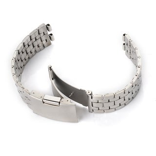 Patuoxun Steel Stainless Steel 20 mm Bracelet for Pebble Steel Smart Watch