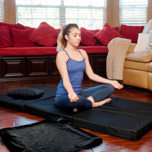 Integrity Bedding Tri-fold Portable Foam Camping/ Sleeping/ Exercise/ Sleepover Mat Pad