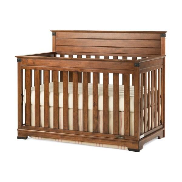 Child Craft Redmond Coach Cherry 4-in-1 Convertible Crib