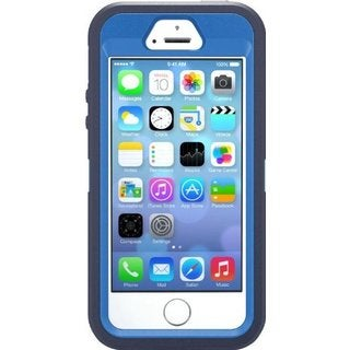 OtterBox Defender Series Surf Blue Phone Case for Apple iPhone 5/ 5S