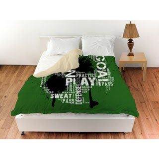 Thumbprintz Soccer Goal Win Play Duvet Cover