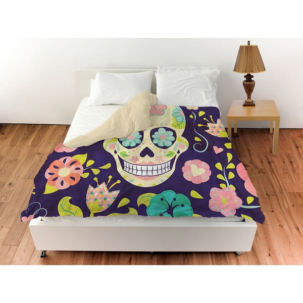 Thumbprintz Sugar Skull Duvet Cover