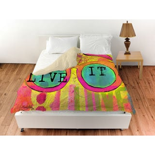 Thumbprintz Sunglasses Live It Duvet Cover