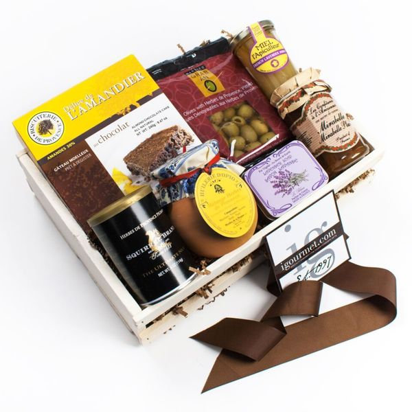 A Taste of Provence Gift Crate