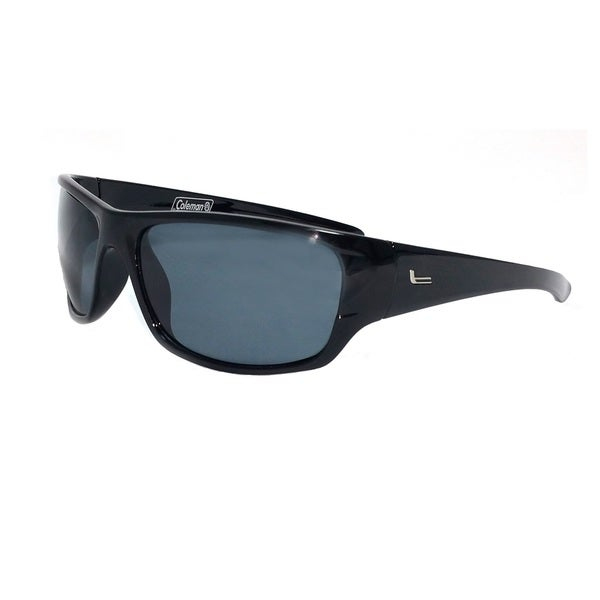 Mountaineer-Shiny Black Full Frame w/ Smoke Lens Sunglasses