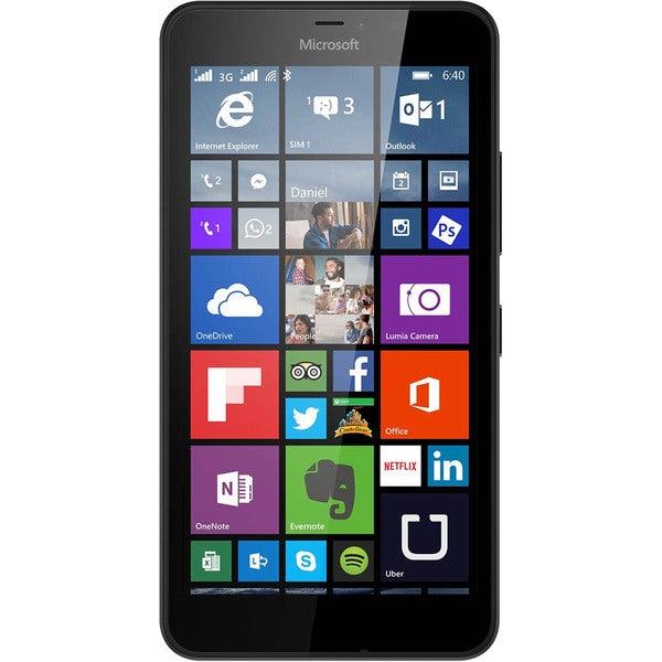 Microsoft Lumia 640 XL LTE 5.7-inch Unlocked GSM Dual-SIM 8GB Windows 8.1 Smartphone