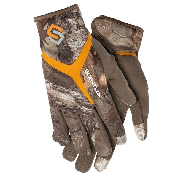 ScentLok Full Season Release Glove Realtree Xtra