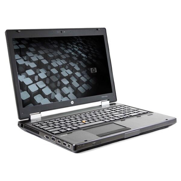 HP 8560W 15.6-inch 2.6GHz Intel Core i5 4GB RAM 500GB HDD Windows 7 Laptop (Refurbished)