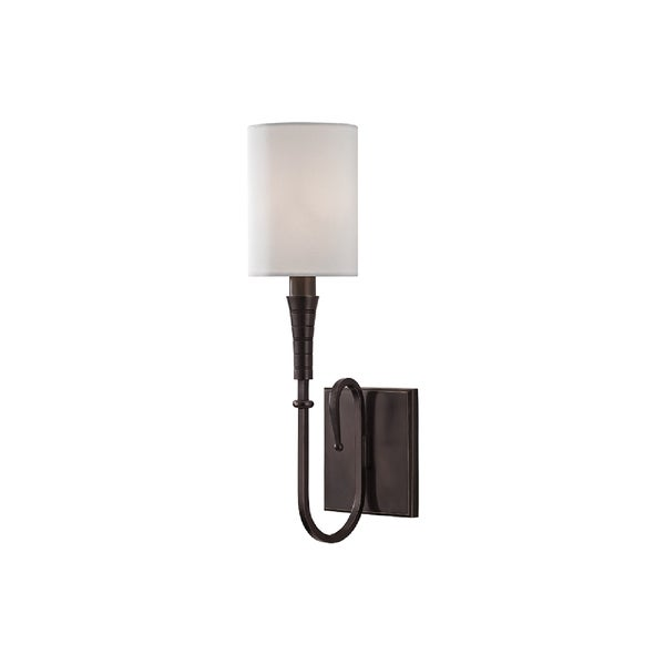 Hudson Valley Lighting Kensington 1-light Wall Sconce, Old Bronze