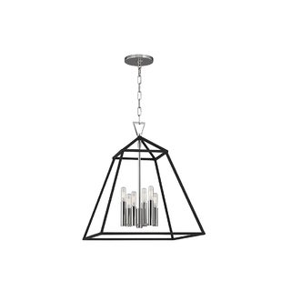 Hudson Valley Lighting Webster 6-light Pendant, Polished Nickel
