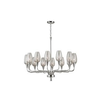 Hudson Valley Lighting Longmont 14-light Chandelier, Polished Nickel