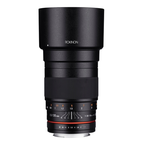 Rokinon 135mm F2.0 ED UMC Telephoto Lens for Canon Digital SLR Cameras