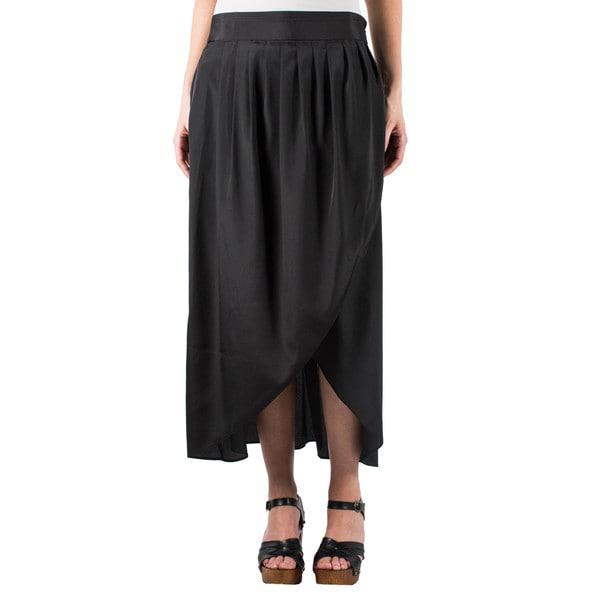 Women's Draped Tulip Skirt