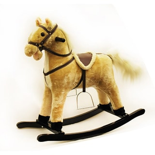 Ponyland Soft Plush Animated Rocking Horse