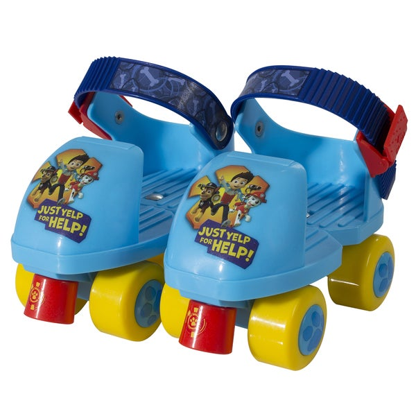 Paw Patrol Kids Rollerskates with Knee Pads