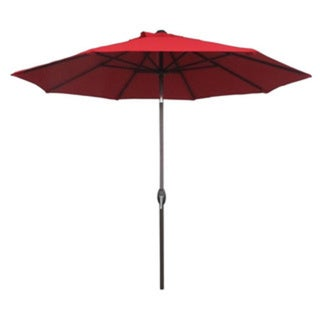 Abba Patio 9 Foot Patio Umbrella Sunbrella Fabric Aluminum Market Umbrella with Auto Tilt and Crank 15542086