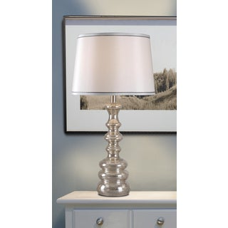 Ebbing Mercury Glass Table Lamp