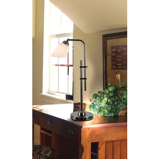Spaner Desk Lamp Dark Aged Burnished