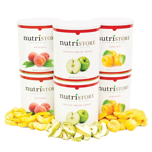 Nutristore Orchard Freeze-dried Fruit Variety Pack