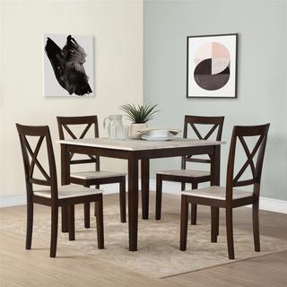 Avenue Greene Sunnybrook Rustic 5-piece Dining Set