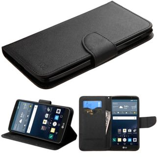 Insten Leather Wallet Flap Pouch Phone Case Cover with Stand For LG G Stylo