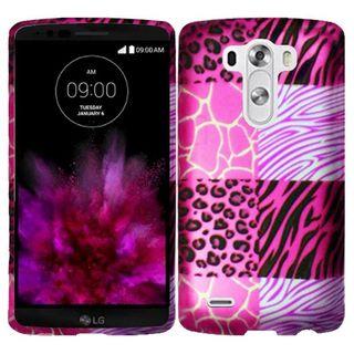 Insten Design Pattern Hard Snap-on Rubberized Matte Phone Case Cover For LG G4