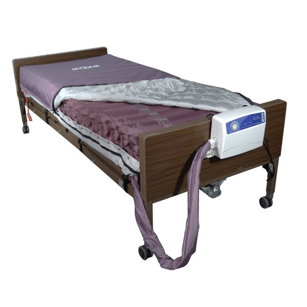Drive Medical Med Aire Mattress Replacement System in Dark Purple
