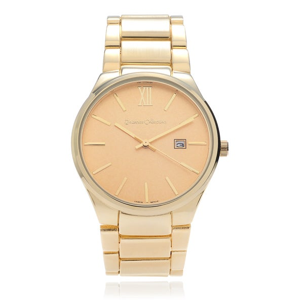 Women's Large Face Link Watch