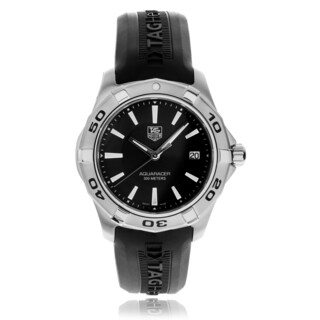 Tag Heuer Men's Aquaracer WAP1110.FT6029 Rubber Strap Watch