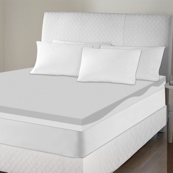 Sinomax Sleep 4-inch Contour Memory Foam Mattress Topper